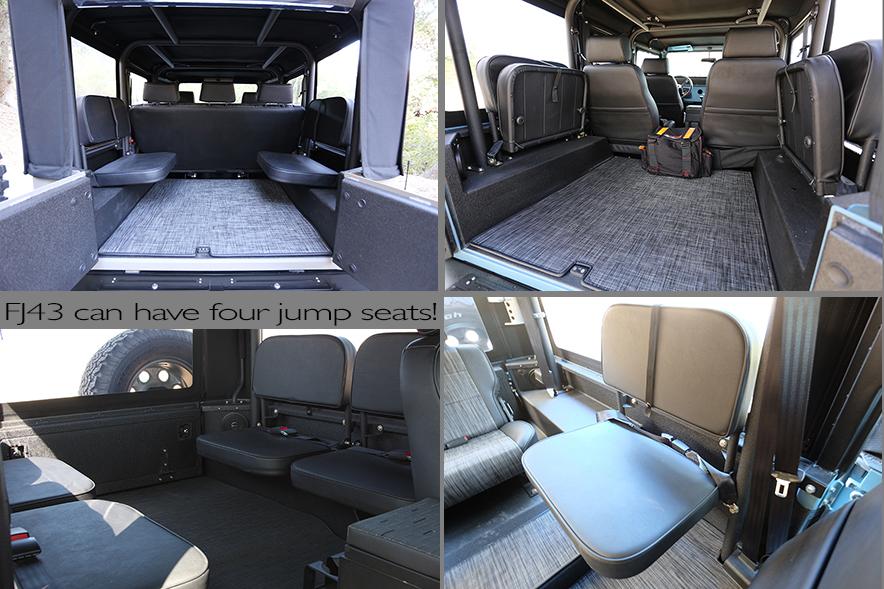 ICON4x4 • FJ Jump Seats