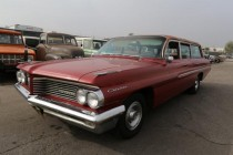1962 Pontiac Catalina Safari Wagon!